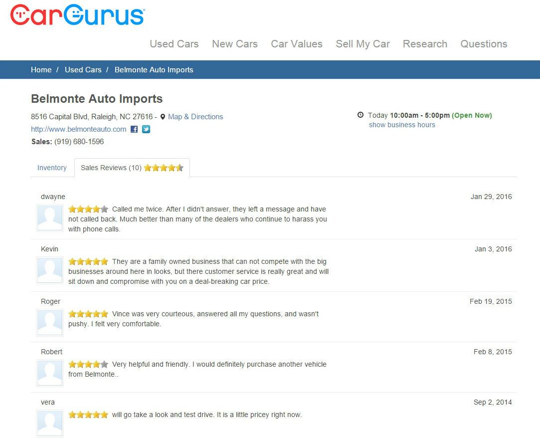 CarGurus Reviews 1